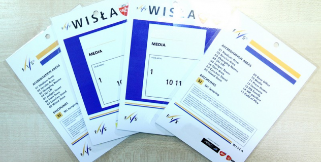FIS SKI JUMPING WORLD CUP WISLA 2016, 3-5 MARCH: MEDIA ACCREDITATIONS