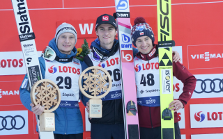 Tande wins in Wisła! Stoch on the podium