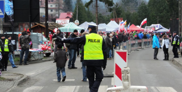 Traffic organisation during Fis World Cup Wisla 2017