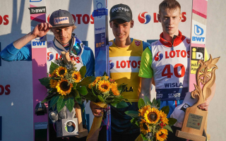 Zajc wins! Dawid Kubacki on the podium in Wisla